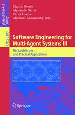 Software Engineering for Multi-Agent Systems III