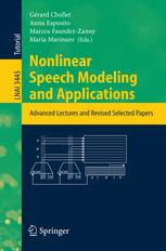 Nonlinear Speech Modeling and Applications
