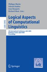 Logical Aspects of Computational Linguistics