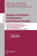 Quality of Software Architectures and Software Quality