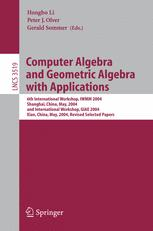 Computer Algebra and Geometric Algebra with Applications