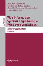 Web Information Systems Engineering – WISE 2005 Workshops