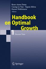 Handbook on Optimal Growth 1