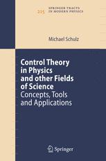 Control Theory in Physics and other Fields of Science