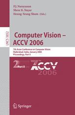 Computer Vision – ACCV 2006