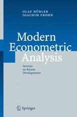 Modern Econometric Analysis