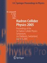 Hadron Collider Physics 2005