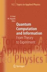 Quantum Computation and Information