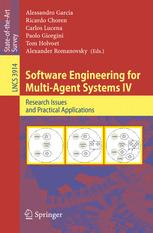 Software Engineering for Multi-Agent Systems IV