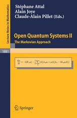 Open Quantum Systems II