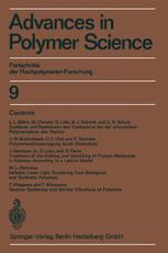 Fortschritte der Hochpolymeren-Forschung