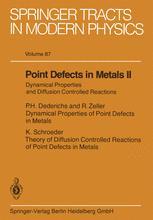 Point Defects in Metals II