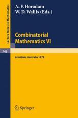 Combinatorial Mathematics VI