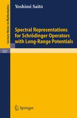Spectral Representations for Schrödinger Operators With Long-Range Potentials