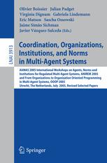 Coordination, Organizations, Institutions, and Norms in Multi-Agent Systems