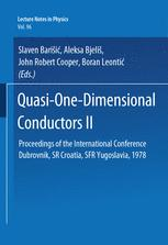 Quasi-One-Dimensional Conductors II