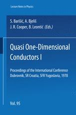 Quasi One-Dimensional Conductors I