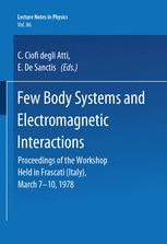Few Body Systems and Electromagnetic Interactions