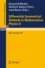 Differential Geometrical Methods in Mathematical Physics II