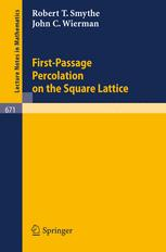 First-Passage Percolation on the Square Lattice