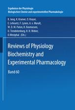 Reviews of Physiology Biochemistry and Experimental Pharmacology, Volume 60
