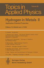 Hydrogen in Metals II