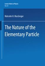 The Nature of the Elementary Particle