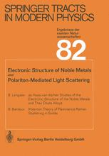 Electronic Structure of Noble Metals and Polariton-Mediated Light Scattering