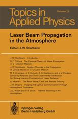 Laser Beam Propagation in the Atmosphere