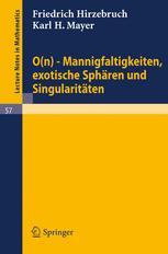 O(n)-Mannigfaltigkeiten, exotische Sphären und Singularitäten
