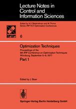 Optimization Techniques Part 1
