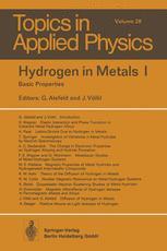 Hydrogen in Metals I