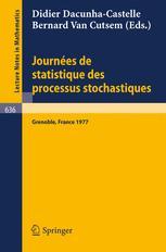 Journées de Statistique des Processus Stochastiques