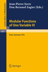 Modular Functions of One Variable VI