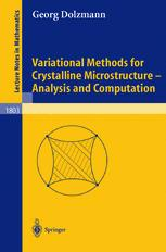 Variational Methods for Crystalline Microstructure - Analysis and Computation