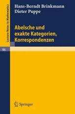 Abelsche und exakte Kategorien, Korrespondenzen