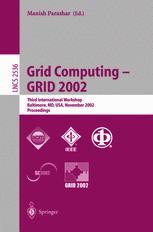 Grid Computing — GRID 2002