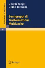 Semigruppi di Trasformazioni Multivoche
