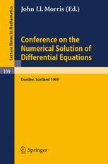 Conference on the Numerical Solution of Differential Equations