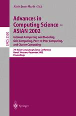 Advances in Computing Science — ASIAN 2002