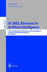 AI 2002: Advances in Artificial Intelligence