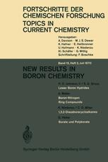 New Results in Boron Chemistry