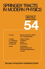Springer Tracts in Modern Physics, Volume 54