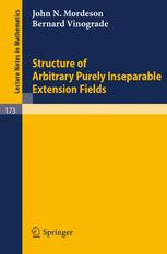 Structure of Arbitrary Purely Inseparable Extension Fields