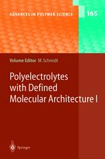 Polyelectrolytes with Defined Molecular Architecture I