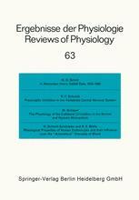 Ergebnisse der Physiologie Reviews of Physiology, Volume 63