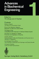 Advances in Biochemical Engineering, Volume 1