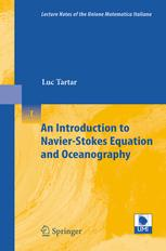 An Introduction to Navier'Stokes Equation and Oceanography