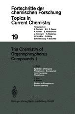 The Chemistry of Organophosphorus Compounds I
