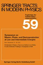Symposium on Meson-, Photo-, and Electro-production at Low and Intermediate Energies
